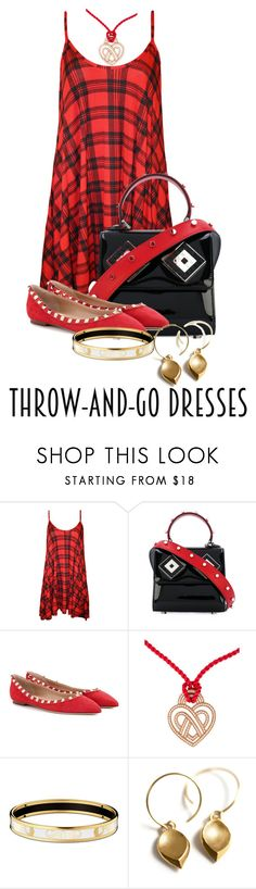 """""""Dressing Made Easy"""" by shamrockclover ❤ liked on Polyvore featuring WearAll, Les Petits Joueurs, Valentino and Poiray Paris"""