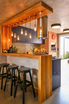 Home Kitchens, Kitchen Design Small, Rustic Kitchen, Kitchen Inspiration Design, Home Decor Kitchen, Kitchen Room Design, Kitchen Interior, Kitchen Furniture Design, Modern Kitchen Design