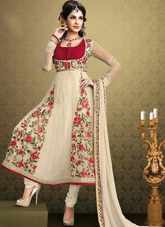 Classy Salwar Kameez Neck Designs with Laces | Things I love ...