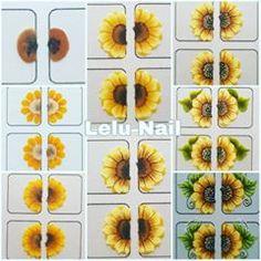Uñas One Stroke, One Stroke Nails, Fingernail Designs, Nail Art Designs, 3d Acrylic Nails, 3d Flower Nails, Diamond Nail Art, Nail Drawing, Trendy Nail Art
