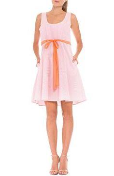 6f4488117b58 OLIAN Designer  Ava  Seersucker Maternity Dress Seersucker Dress