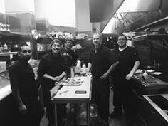 It's a wrap! Chef Chris, sous chef Cezar, and the team following this evening's 626 Night Market vendor appreciation dinner.
