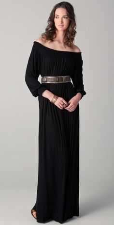 There is nothing more romantic to me than off-shoulder necklines