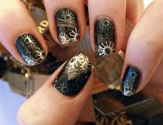 steampunk nails