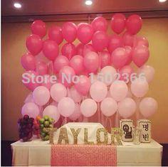 Goedkope Latex Balloons 100Pcs/Lot 10''1.2g Pink Birthday Party Decorations Kids Balloons Wedding Balloons Event Party Supplies, koop Kwaliteit Event& party benodigdheden rechtstreeks van Leveranciers van China:                  Click Surprise              100Pcs/Lot 10' Inch 1.5g Silver Pearl Latex Balloon Birthday We