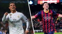 Lionel Messi and Cristiano Ronaldo goal for goal - uefa.com, 7 May 2015