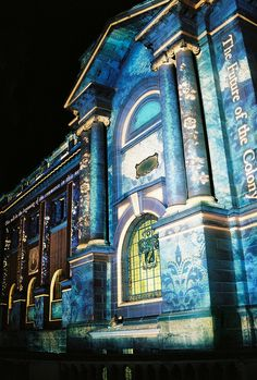 NSW State Library, Sydney, during Vivid Sydney Hello Australia, Sydney Australia, Australia Travel, Scary Places, Great Places, Vacation Places, Dream Vacations, Places Around The World, Around The Worlds