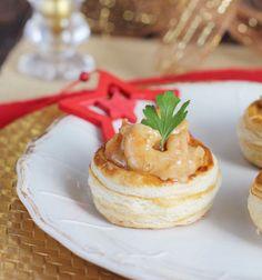 Rellenos para volovanes, las mejores recetas de rellenos de volovanes para Navidad. Volovanes rellenos, volovanes caseros. Escoge tu receta de volovanes.