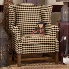 We have this chair in navy blue. I must say its my husband's easy chair. He loves it as do our grandbabies.  Everyone loves it.  Should have gotten two. Lol  It is very comfortable.
