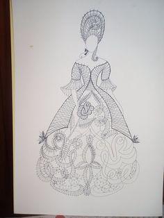damas.. - Marina Feijoo - Álbumes web de Picasa Bobbin Lace Patterns, Madonna, Lady, Diy And Crafts, Inspiration, Hobby, Albums, Flowers, Lace