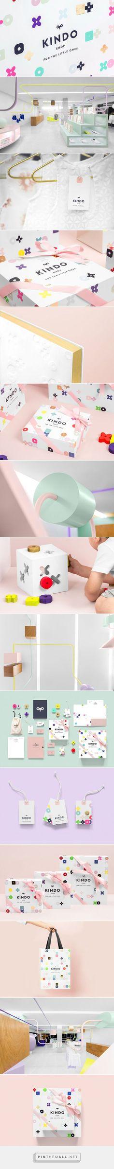 Kindo #Kids #Clothing #packaging designed by Anagrama - http://www.packagingoftheworld.com/2015/07/kindo.html: