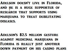 Did RICK SCOTT promise Sheldon Adelson a Casino in Florida for 2.5 million donation ?