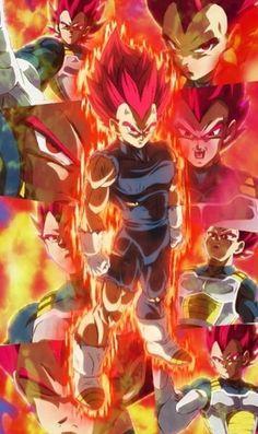 I was waiting for god Vegeta for EVER! Otaku Anime, Manga Anime, Anime Art, Dragon Ball Z, Dragon Ball Image, Goku E Vegeta, Dbz Wallpapers, Lion Photography, Akira