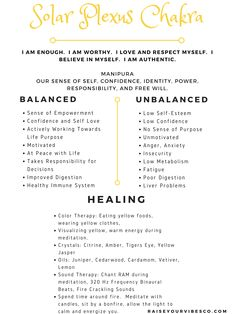 Do you feel like you're enough? Do you feel worthy? Motivated? Self accepting? If not, it's wise to work on balancing your Solar Plexus Chakra. Check out our newest blog post for self healing techniques, meditation tips, sound healing, a FREE printable, and more!