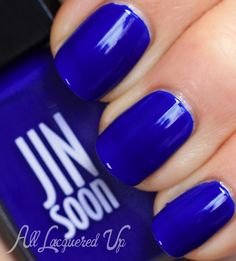 jinsoon blue iris nail polish swatch botanical flowers spring 2013 jin soon Best of 2013 Top 30 Nail Polishes of the Year Nails Polish, Blue Nail Polish, Pretty Nails, Fun Nails, Iris Nails, Cobalt Blue Nails, Finger, Nagellack Trends, Nail Polish Collection