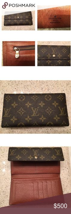 Authentic Louis Vuitton Wallet Mint condition Louis Vuitton Bags Wallets