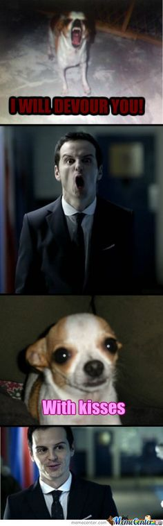 Moriarty's Dog. This was one of my contributions to Sherlock's odd fandom.