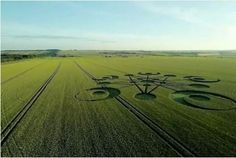 Crop circle in South West field is 'first of the year'