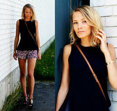 Summer street fashion.