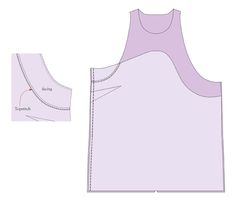 All-in-one facing sewing tutorial image 5