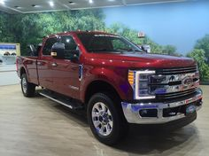 2017 Ford F-350 at the Toronto autoshow. PC: @porcupinelawnandsnowcare by unitedwescape