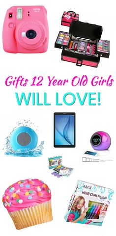 Gifts 12 Year Old Girls! The best gifts for a twelve year old girl. Great for birthdays, Christmas, Easter or just because. Cool gift ideas that any 12 yr old girl will love. Makeup, electronics, toys, gadgets and more. Find trendy gift ideas for that special 12 year old girl in your life now!
