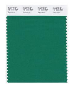 PANTONE SMART 18-5633X Color Swatch Card, Bosphorus