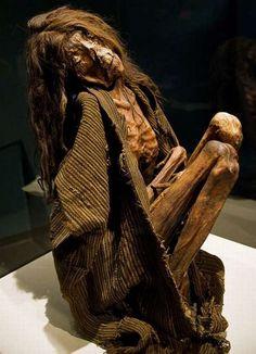 Mummies of the world display