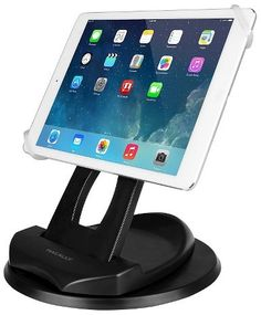 "Macally Tablet Stand Up To 10"" - Black (SPINGRIP)"