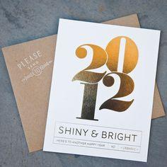 NEW YEAR'S CARDS FROM URBANIC   Avie Designs
