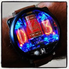 Cathode tube watch is amazing. #cool watches