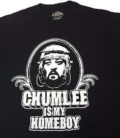 PAWN STARS Chumlee Is My Homeboy Men's T-Shirt Size XL Gold & Silver Pawn Black