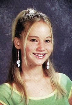 Most likely to win an Oscar Jennifer Lawrence was absolutely adorable long before she found fame, as her eighth-grade yearbook photo, taken in 2005, proves