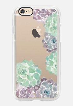 Casetify iPhone 7 Case and Other iPhone Covers - Sweet Succulents Case by Wonder Forest by wonder  forest | #Casetify