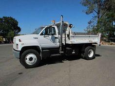 USED 1991 GMC Dump Truck TopKick Dump Truck for sale in CA #truck #sale