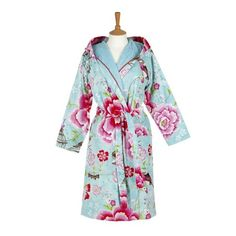 Pip Studio - Birds in Paradise Bathrobe - Blue
