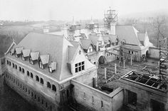 Biltmore House- exterior- stable construction