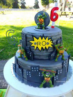 TMNT Themed Birthday Cake | Paarteez.com