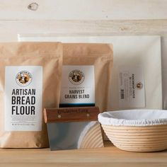 Prepare to bake delicious, bakery-worthy yeasted breads at home. With our five hand-selected tools and ingredients, you can learn to make stunning artisan breads. $86.25