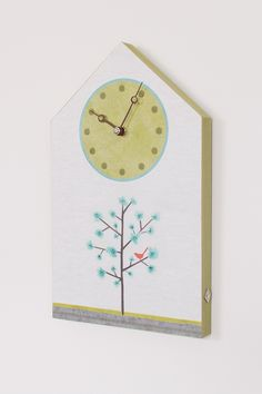 House Wall Clock in Tree Song
