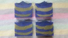 (CP) indigo and chlorella soap
