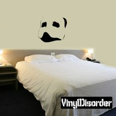 Tiki Mask Wall Decal - Vinyl Decal - Car Decal - CF043