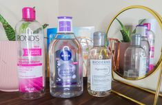 The lowdown on micellar water, all you need to know: how to use it, what are its benefits and my top 3 recommendations Micellar Water, Water Me, Vodka Bottle, Need To Know, Skin Care, Wine, Drinks, Top, Drinking