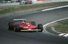 Gilles Villeneuve, Ferrari 312T4 1979