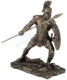 Achilleus Greek Hero In The Trojan War Statue