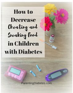 Sneaking food and cheating is a touchy subject wfor children with diabetes. Learn strategies for decreasing negative behaviors. http://parentingdiabetes.com