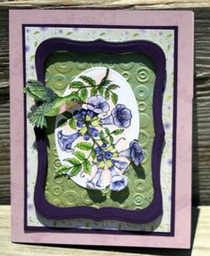 Humming by sewflake - Cards and Paper Crafts at Splitcoaststampers