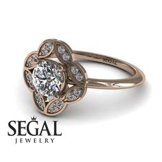 How Are Vintage Gemstone Diamond Engagement Rings Totally Different From Modern Rings? If you are deciding from the vintage or modern gemstone diamond engagement ring, there's a great consid… Unique Diamond Engagement Rings, Classic Engagement Rings, Beautiful Engagement Rings, Antique Engagement Rings, Designer Engagement Rings, Diamond Rings, Sapphire Rings, Halo Diamond, Diamond Jewelry