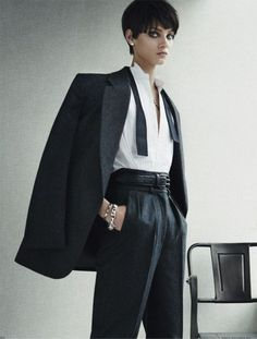 40 Classic Masculine Fashion Ideas For Women | http://stylishwife.com/2015/03/classic-masculine-fashion-ideas-for-women.html