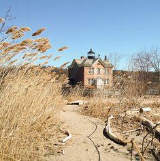 Keltainen talo rannalla: Persoonallisia koteja
